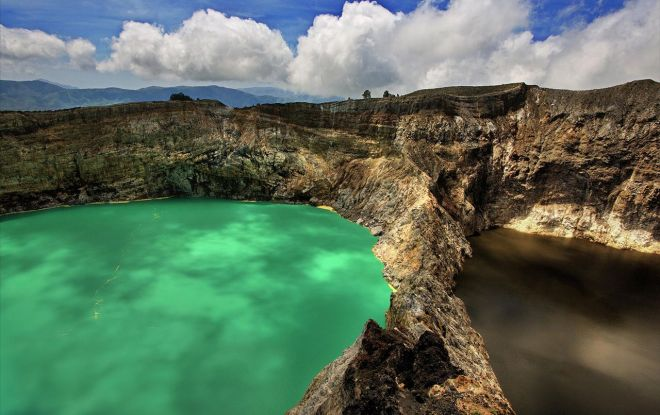 Kilimutu Crater Lakes, Flores, Indonesia