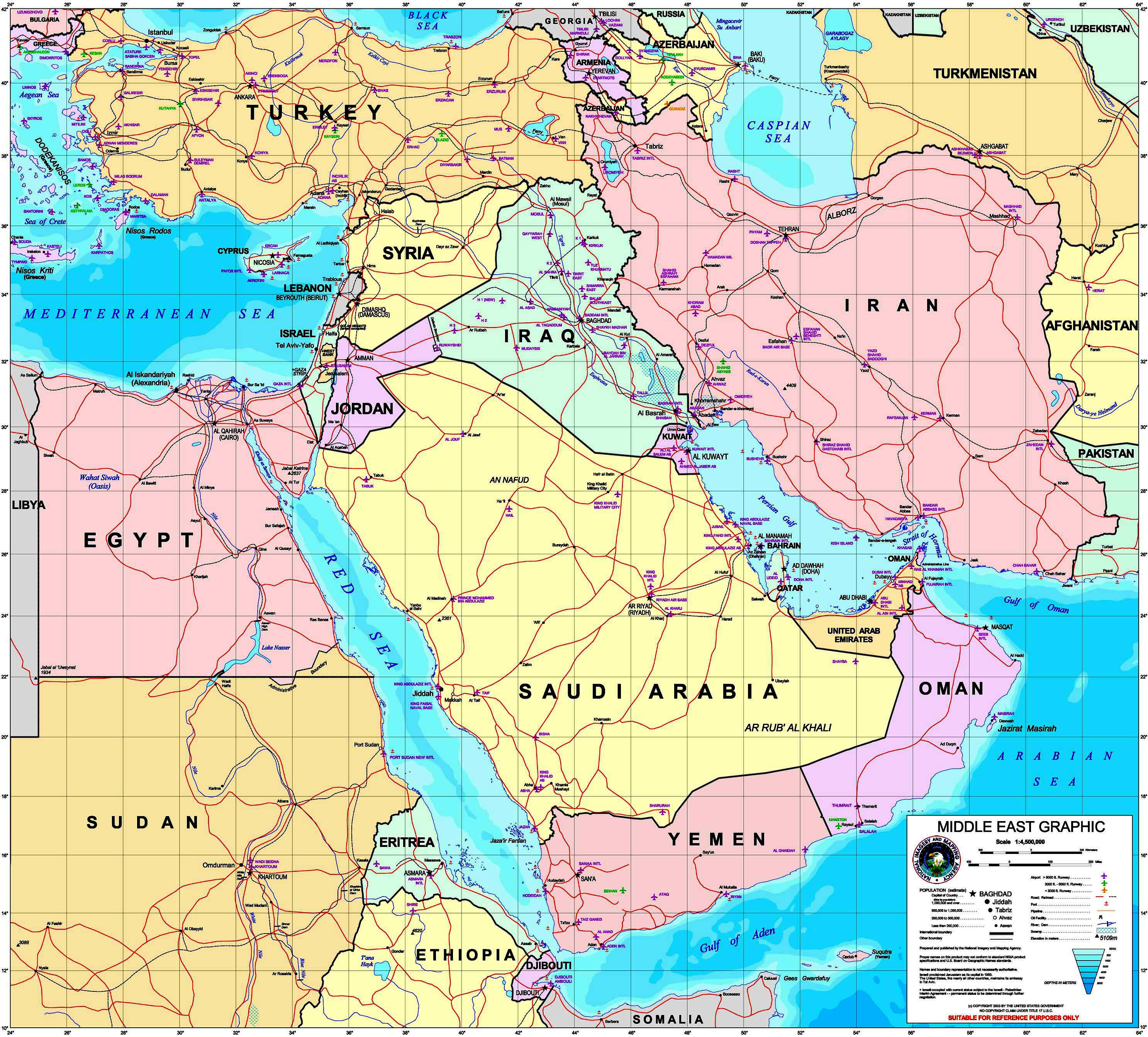 Us Attention On The Middle East Outline Map Answers - Us attention on the middle east outline map answers